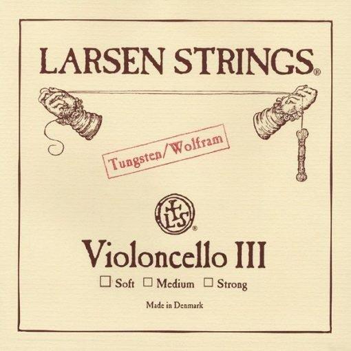 Cuerda de cello Larsen 3º Tungsteno