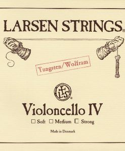 Cuerda de cello Larsen 4ª Tungsteno