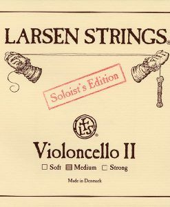 Cuerda de cello Larsen Solist 2ª medium