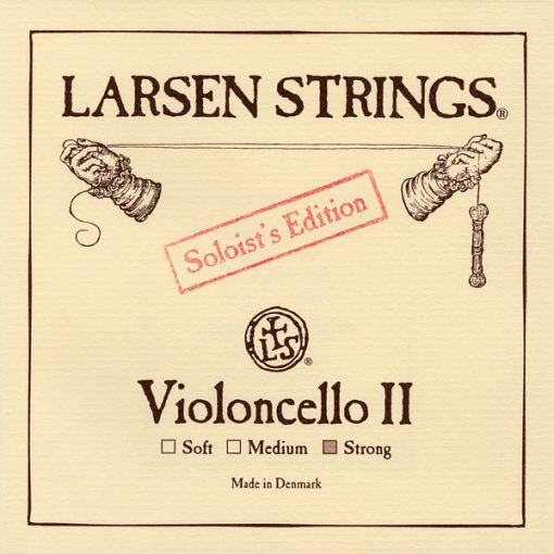 Cuerda de cello Larsen Solist 2ª Strong