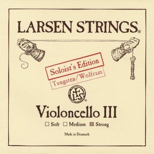 Cuerda de cello Larsen Solist 3ª strong