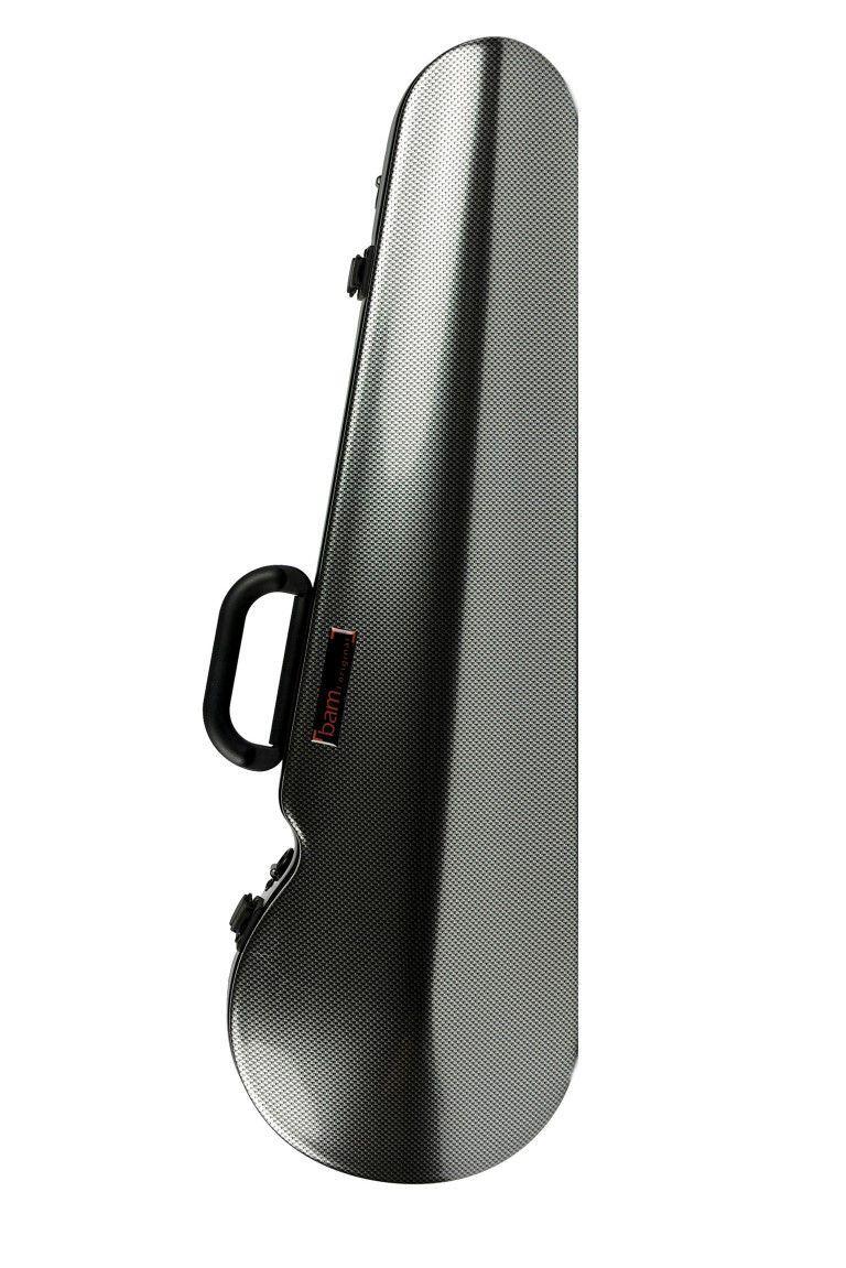 Estuche de violín Bam HIghtech 2002XL Silver Carbon
