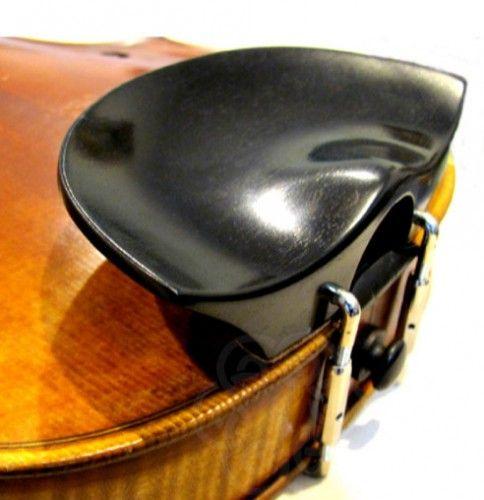 Barbada de violín central Flesch old model ébano