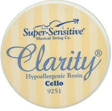 Resina para cello Clarity