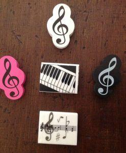 gomas variadas musicales