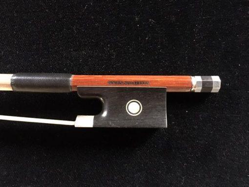 Arco de violín F.F. Schaeffer do Brasil pernambuco y plata