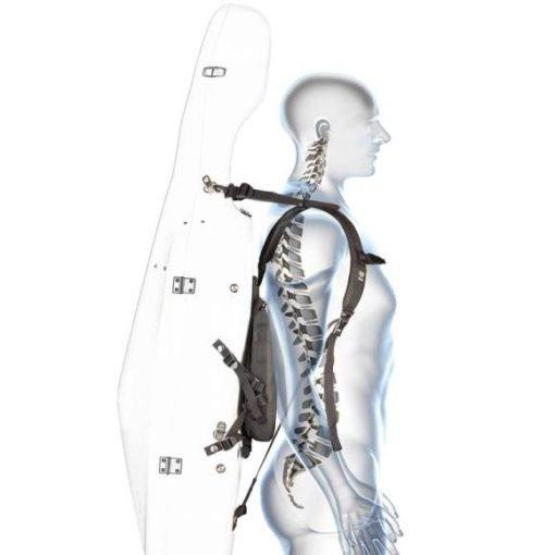 Sistema de mochila para estuches de cello Fiedler