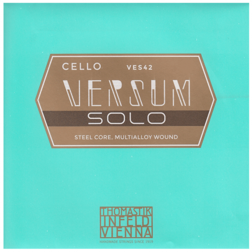 Cuerda de cello Thomastik Versum Solo juego