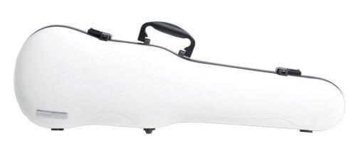 Estuche de violín Gewa Air blanco forma
