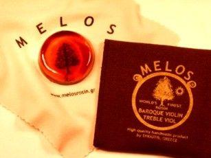 Resina de violín Melos Barroco