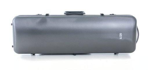 Estuche de violín Gewa Pure Rectangular gris