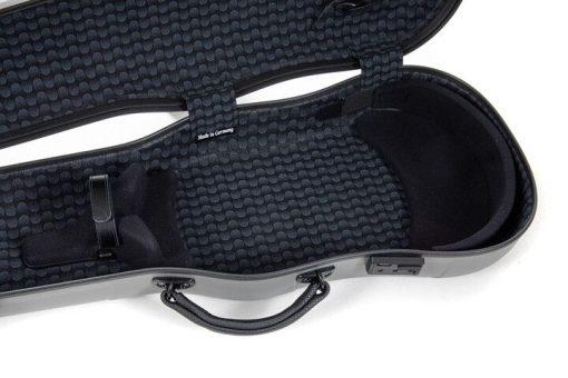 Estuche de viola Gewa Luthier con forma detalle interior